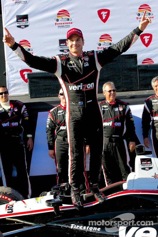 Vencedor da corrida Will Power, Team Penske Chevrolet