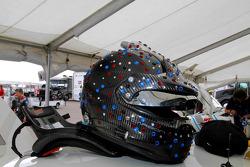 An interesting helmet