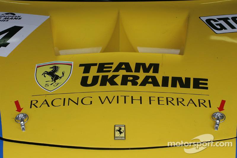Team Ukraine Ferrari