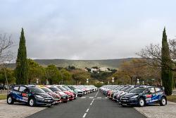 42 Ford Fiestas nel Rally del Portogallo