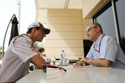 安德里安·苏蒂尔,索伯车队和路易斯·巴斯孔塞洛斯,F1记者