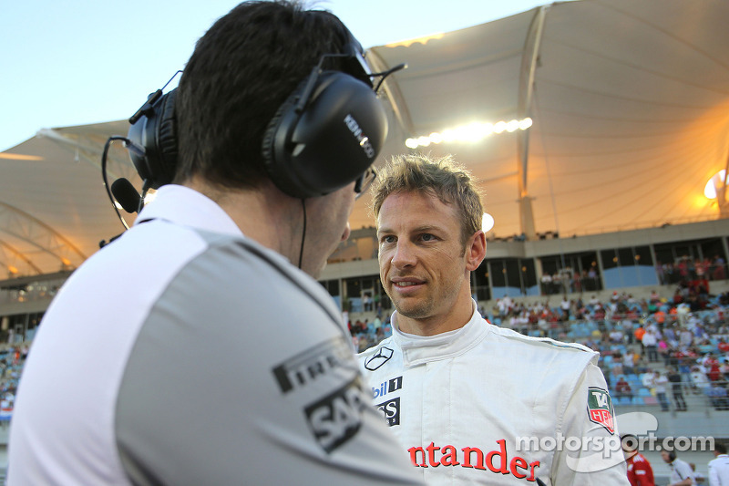 Jenson Button, McLaren F1 Team 06