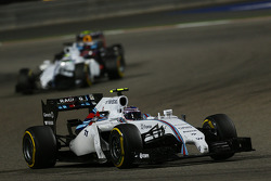 Valtteri Bottas, Williams FW36 and Felipe Massa, Williams FW36