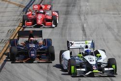 Josef Newgarden, Sarah Fisher Hartman Racing and Jack Hawksworth, Bryan Herta Autosport Honda