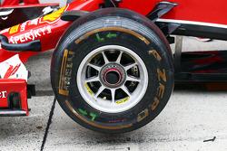法拉利F14-T前轮轮毂细节