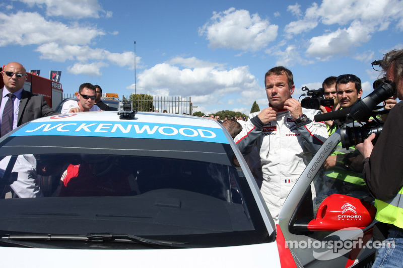Sébastien Loeb, Citroën C-Elysee WTCC, Citroën Total WTCC e il Principe Alberto II
