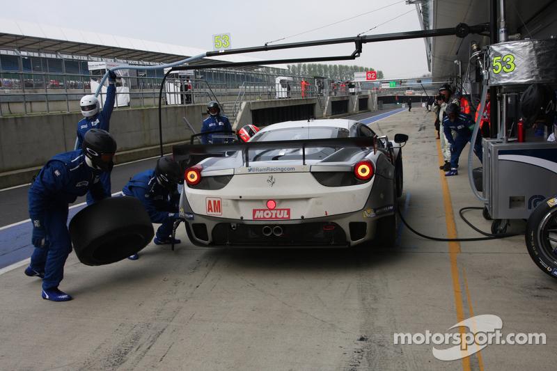 #53 RAM Racing 法拉利 F458 Italia: 乔尼·莫勒姆, 马克·帕特森, 本·科林斯