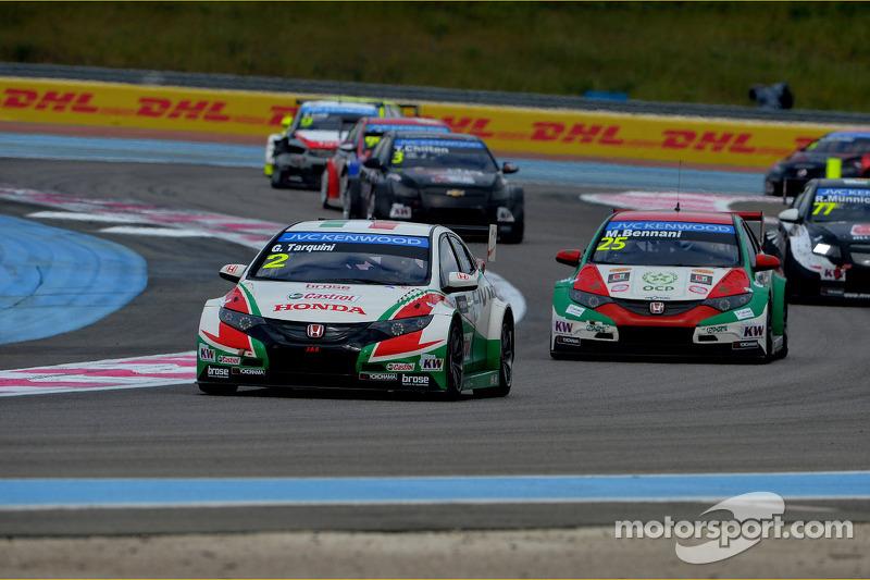 Gabriele Tarquini, Honda Civic WTCC, Castrol Honda WTCC Takımı ve Mehdi Bennani, Honda Civic WTCC, Proteam Racing