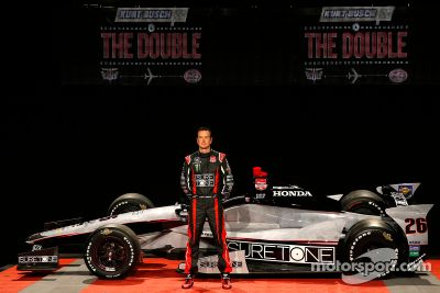 Kurt Busch Indy 500 görünüm lansmanı