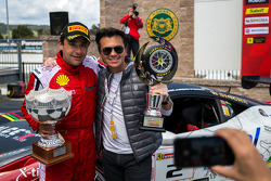 Race 2 winner Ricardo Perez