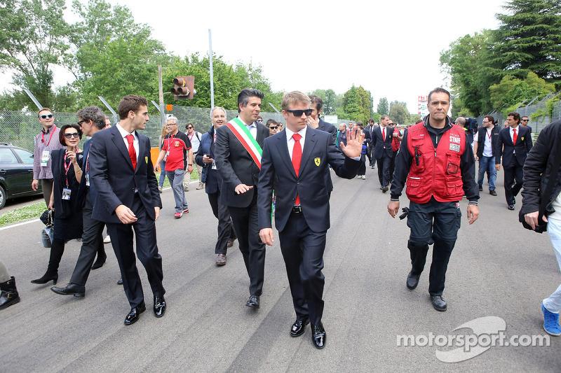 Tamburello virajında anma töreni, Kimi Raikkonen