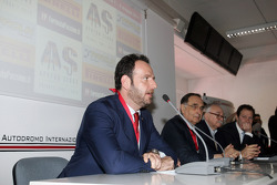 Press conference: the evolution of safety in F1, Matteo Bonciani