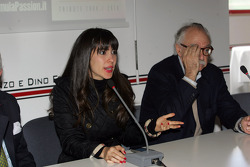 Press conference: the evolution of safety in F1, Paula Senna Lalli, niece of Ayrton Senna da Silva