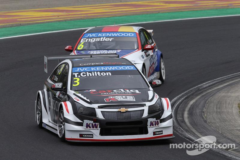 Tom Chilton, Chevrolet Cruze RML TC1, ROAL Motorsport e Franz Engstler, BMW 320 TC, Liqui Moly team Engstler
