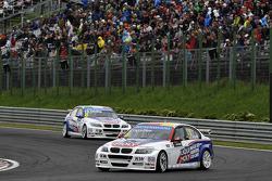 Franz Engstler, BMW 320 TC, Liqui Moly Team Engstler e Pasquale Di Sabatino, BMW 320 TC, Liqui Moly Team Engstler