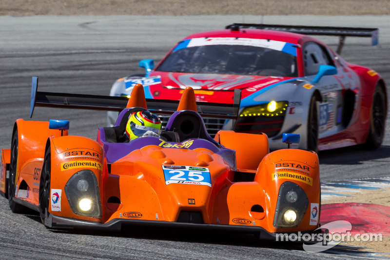 #25 8Star Motorsports ORECA FLM09: 路易斯·迪亚斯, 希恩·雷霍尔