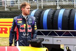 Sebastian Vettel, Red Bull Racing en la parrilla