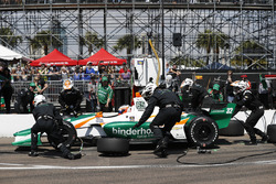Rene Binder, Juncos Racing Chevrolet au stand