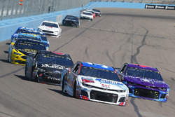 Chris Buescher, JTG Daugherty Racing, Chevrolet Camaro Scott Towels, Darrell Wallace Jr., Richard Petty Motorsports, Chevrolet Camaro The Cosmopolitan of Las Vegas
