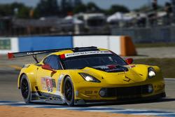 Антонио Гарсия, Ян Магнуссен, Майк Роккенфеллер, Corvette Racing, Chevrolet Corvette C7.R (№3)