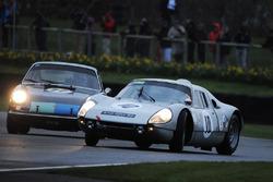Ronnie Hoare Trophy Afschim Fatemi Porsche 905, Mark Sumpter Porsche 911