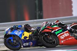 Франко Морбиделли, Estrella Galicia 0,0 Marc VDS, и Алеш Эспаргаро, Aprilia Racing Team Gresini