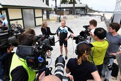Valtteri Bottas, Mercedes-AMG F1 habla con los medios
