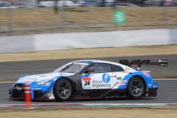 #24 Kondo Racing Nissan GT-R Nismo GT3: Mitsunori Takaboshi, Joao Paulo de Oliveira