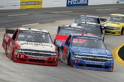 Stewart Friesen, Halmar Friesen Racing, Chevrolet Silverado We Build America, Johnny Sauter, GMS Racing, Chevrolet Silverado Allegiant Airlines