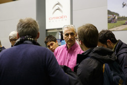 Didier Clément, Sporting Technical Coordinator, Citroen Racing with medias