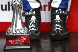 Podium: Trophy of #75 Optimum Motorsport Aston Martin V12 Vantage GT3: Flick Haigh