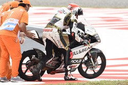 La caduta di Albert Arenas, Ángel Nieto Team Moto3