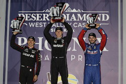 Podium: 1. Josef Newgarden, Team Penske Chevrolet; 2. Robert Wickens, Schmidt Peterson Motorsports Honda; 3. Alexander Rossi, Andretti Autosport Honda