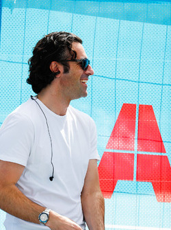 TV Pundit Dario Franchitti