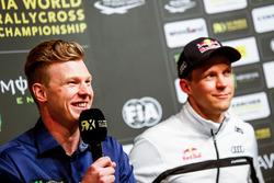 Йохан Кристофферссон, PSRX Volkswagen Sweden, и Маттиас Экстрём, EKS Audi Sport