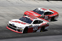 Cole Custer, Stewart-Haas Racing, Ford Mustang Haas Automation and Ryan Reed, Roush Fenway Racing, Ford Mustang Drive Down A1C Lilly Diabetes