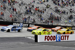 Alex Bowman, Hendrick Motorsports, Chevrolet Camaro Nationwide, Paul Menard, Wood Brothers Racing, Ford Fusion Menards / Dutch Boy, Joey Logano, Team Penske, Ford Fusion Autotrader, and Michael McDowell, Front Row Motorsports, Ford Fusion Love's Travel Stops