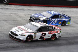 Brad Keselowski, Team Penske, Ford Fusion Discount Tire and Martin Truex Jr., Furniture Row Racing, Toyota Camry Auto-Owners Insurance
