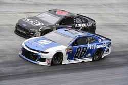 Alex Bowman, Hendrick Motorsports, Chevrolet Camaro Nationwide and Trevor Bayne, Roush Fenway Racing, Ford Fusion AdvoCare