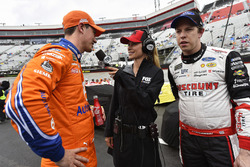 Joey Logano, Team Penske, Ford Fusion Autotrader and Brad Keselowski, Team Penske, Ford Fusion Discount Tire