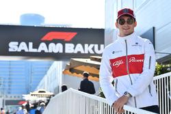 Charles Leclerc, Sauber Charles Leclerc, Sauber e Marcus Ericsson, Sauber