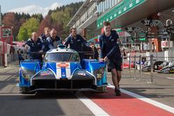 Автомобиль Ginetta G60-LT-P1 (№6) команды CEFC TRSM Racing