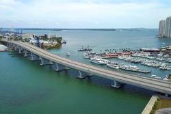 Miami F1 circuit ontwerp