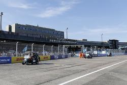 Antonio Felix da Costa, Andretti Formula E Team, Stéphane Sarrazin, Andretti Formula E Team, nella drivers parade