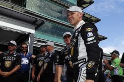 Ed Carpenter, Ed Carpenter Racing Chevrolet celebra al ganar el premio Verizon P1 Pole