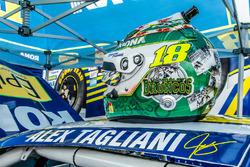 Helmet of Alex Tagliani