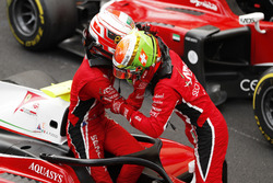 Antonio Fuoco, Charouz Racing System y Lando Norris, Carlin