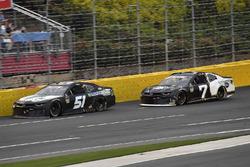 B.J. McLeod, Rick Ware Racing, Chevrolet Camaro Prefund Capital and J.J. Yeley, NY Racing Team, Chevrolet Camaro Steakhouse Elite