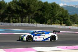 #25 Sainteloc Racing Audi R8 LMS: Simon Gachet, Christopher Haase, Markus Winkelhock