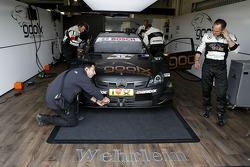 Pitstop, Daniel Juncadella, Mercedes AMG DTM-Team M¸cke DTM Mercedes AMG C-CoupÈ